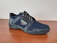 Кроссовки мужские джинс, фото 1