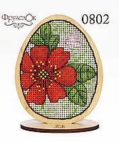 """Набор для вышивання крестиком на деревянной основе ФрузелОк """"Писанка"""" 0802"""
