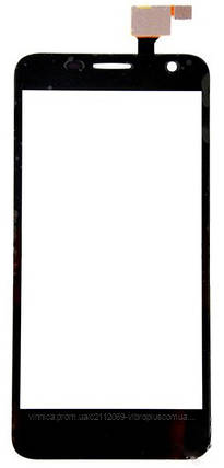 Тачскрин (сенсор) Alcatel 6012, 6012x One Touch Idol Mini, black (чёрный), фото 2