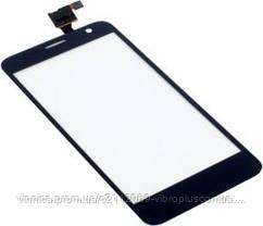 Тачскрин (сенсор) Alcatel 6012, 6012x One Touch Idol Mini, black (чёрный), фото 3