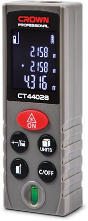 Лазерный дальномер  Crown CT 44028