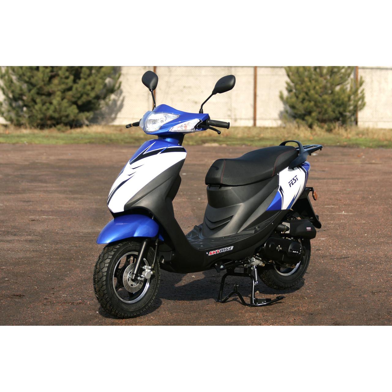 Скутер 4х тактный одноцилиндровый FEST-80 Skybike
