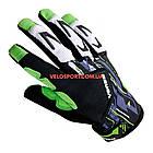 Велоперчатки VENZO VZ-F29-006 с пальцами М зеленые, фото 2