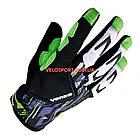 Велоперчатки VENZO VZ-F29-006 с пальцами М зеленые, фото 3