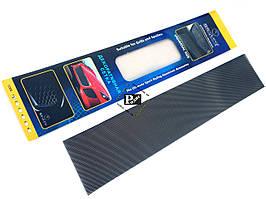 Декоративная сетка на решетку радиатора №1 черная (длина = 100 см, ширина 20 см)
