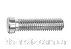 Винт с уменьшенной цилиндрической головкой c прямым шлицем DIN 920 от М 1.6 до М 10, фото 2