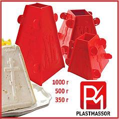 Форма для творожной пасхи пасочница 350, 500, 1000 грамм