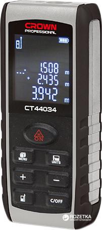 Лазерный дальномер Crown CT 44034