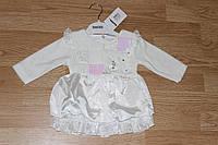 Детское платье Цветочки. Размер 6 - 24 месяца
