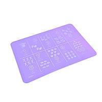 Сервировочний коврик на обеденный стол АРИФМЕТИКА 38х28 (силикон)