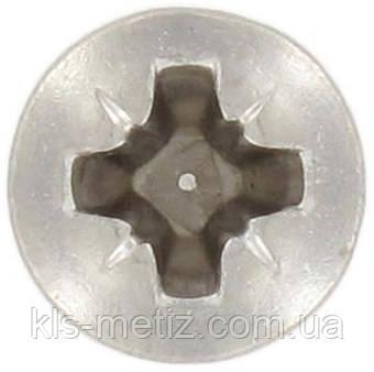 Винт с полупотайной головкой Pz DIN 966 от М 2,5 до М 8, фото 2