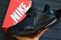 Кроссовки Nike Sock Dart Triple Black. Живое фото. Топ качество (Реплика ААА+)