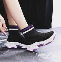 Черные кожаные кроссовки Christian Louboutin, фото 1