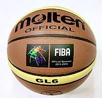 М'яч баскетбольний №6 MOL GL-6, фото 1