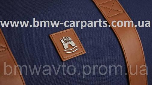 Дорожная сумка Volkswagen Classic Weekender Bag, Dark Blue/Brown, фото 2