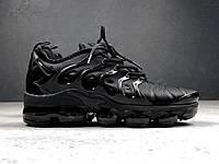 Кроссовки Nike Vapor Max TN Black. Топ качество! Живое фото (Реплика ААА+), фото 1