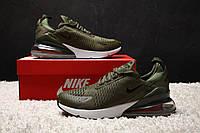 "Кроссовки Nike Air Max 270 "" Medium Olive"". Живое фото. Топ реплика, фото 1"
