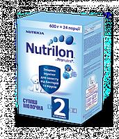 Детская смесь Nutrilon 2 (6-12 мес) 600 г.