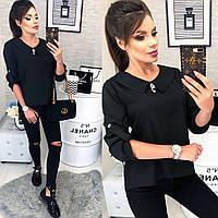 5fcb5642982 Блуза черная из шифона в Украине. Сравнить цены