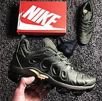 Кроссовки Nike Air VaporMax Plus Cargo Khaki. Топ качество! Живое фото (Реплика ААА+), фото 1