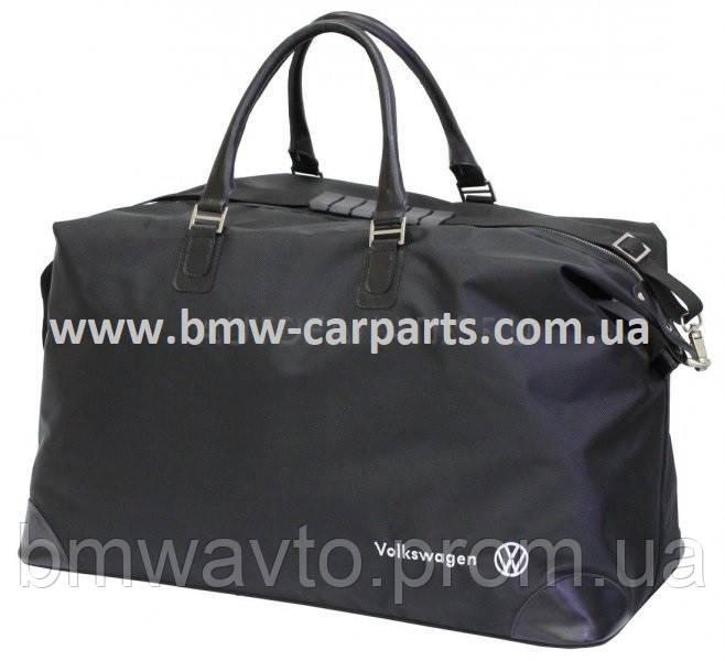 Дорожная сумка Volkswagen Travel Bag, Large, BlackДорожная сумка Volkswagen Travel Bag, Large, Black, фото 2