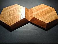"""Декоративная деревянная панель """"HEXAGON"""", фото 1"""