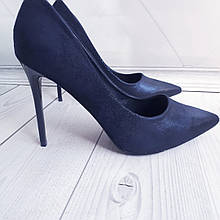 Туфлі жіночі класичні сині