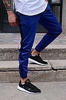 Мужские штаны спортивные Rocky синий. Живое фото, фото 1