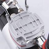 Миникомпрессор двухцилиндровый для аэрографа Fengda AS-19, фото 5