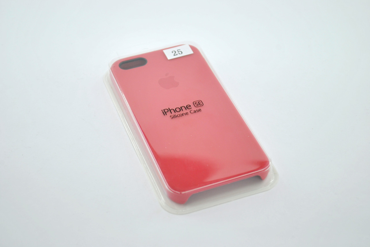 Чехол для iPhone 5 /5s/SE Silicone Case original №25 camelia