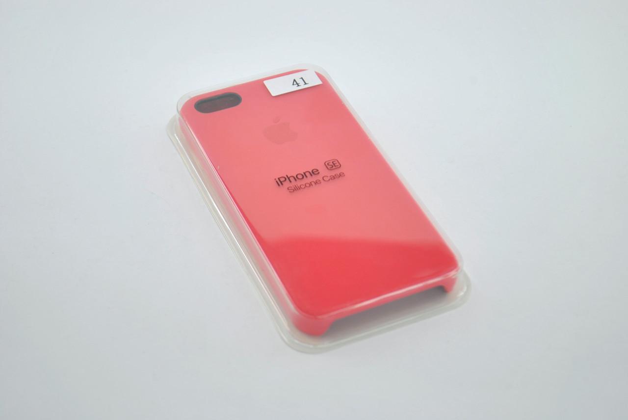 Чехол iPhone 5/5s/SE Silicon Case original rose