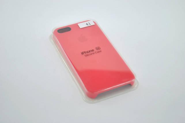 Чехол iPhone 5/5s/SE Silicon Case original rose, фото 2