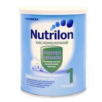 Сухая детская молочная смесь Nutrilon Кисломолочный 1, 400 г