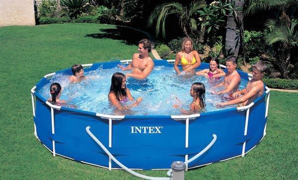 Intex Бассейн каркасный 28212 NP фильтр /сеть 220-240 В, 366х76см, 6503л