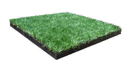 Резиновая плитка-трава спортивная (30/20 мм)