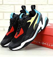 Жіночі кросівки Puma Thunder Spectra Black. Живе фото (Репліка ААА+)