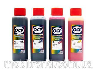Чернила OCP Epson серии L, комплект 4x100 мл (BK, C, M, Y 155)