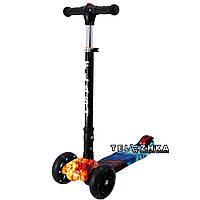 Самокат детский ScooteX Scooter Smart ProStyle Fire