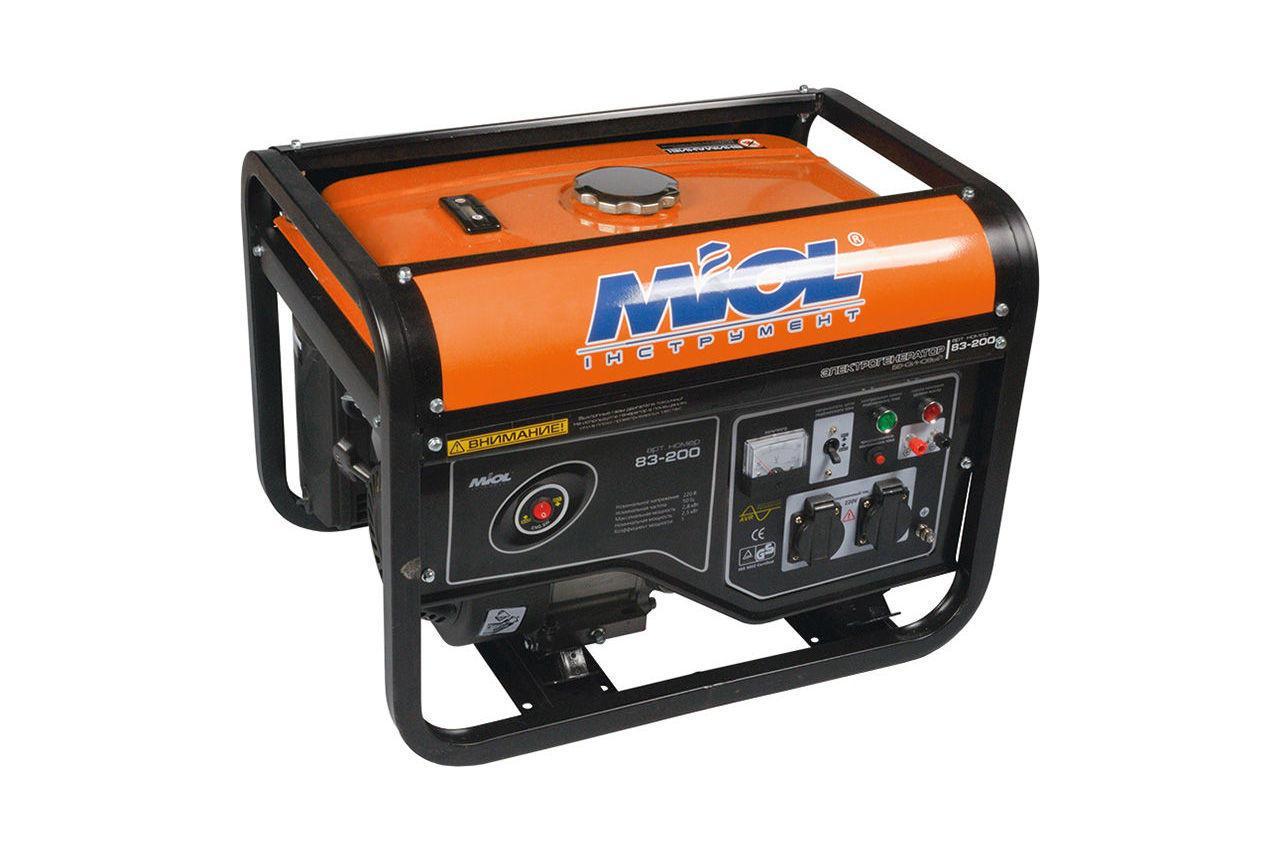 Генератор бензиновый Miol - 83-250 (83-250)