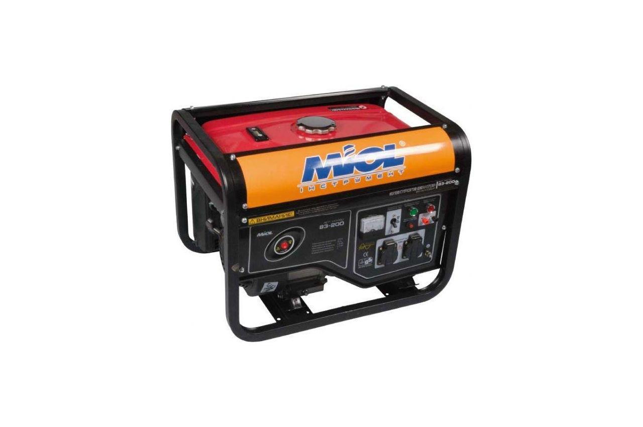 Генератор бензиновий Miol - 83-200