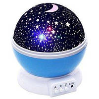 Ночник-проектор Star Master голубой FL028