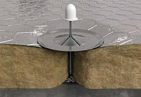 Мат ламельный 1000*8000*30мм ROCKWOOL ALU LAMELLA MAT фольгированный. Вата базальтовая минеральная.
