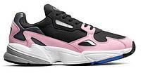 """Кроссовки Adidas Falcon """"Black Pink White"""" - """"Черные Розовые Белые"""" (Копия ААА+)"""
