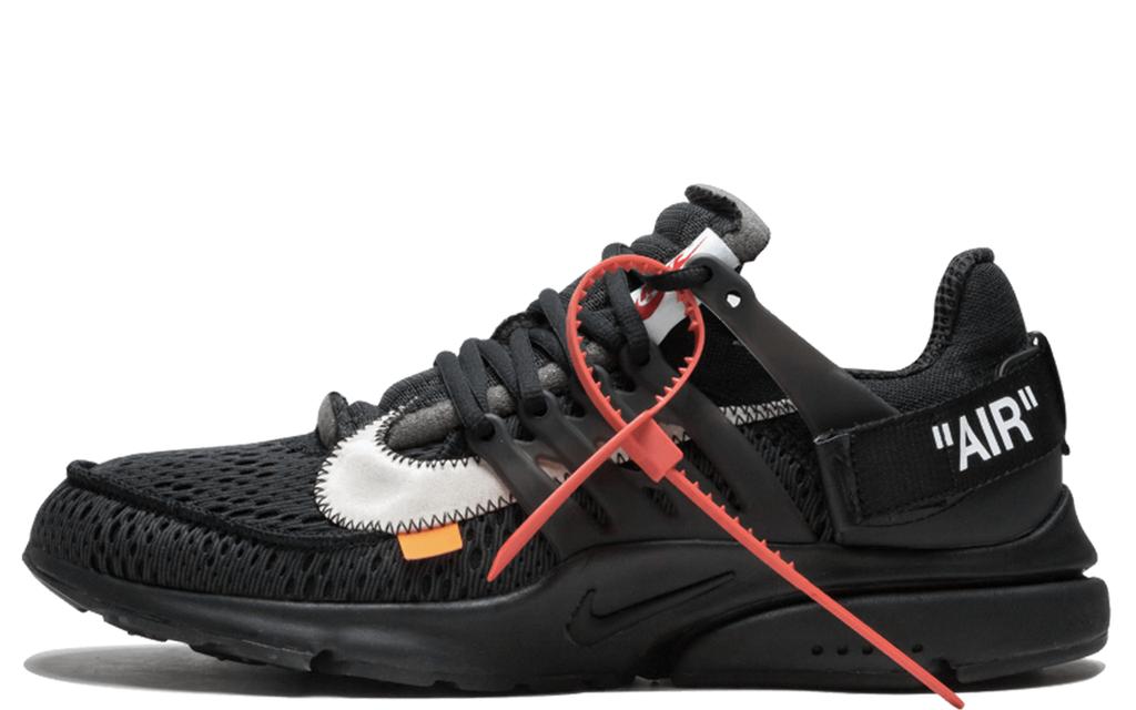 846daa72 Мужские кроссовки Nike Air Presto Off White Black (найк аир престо офф  вайт, черные