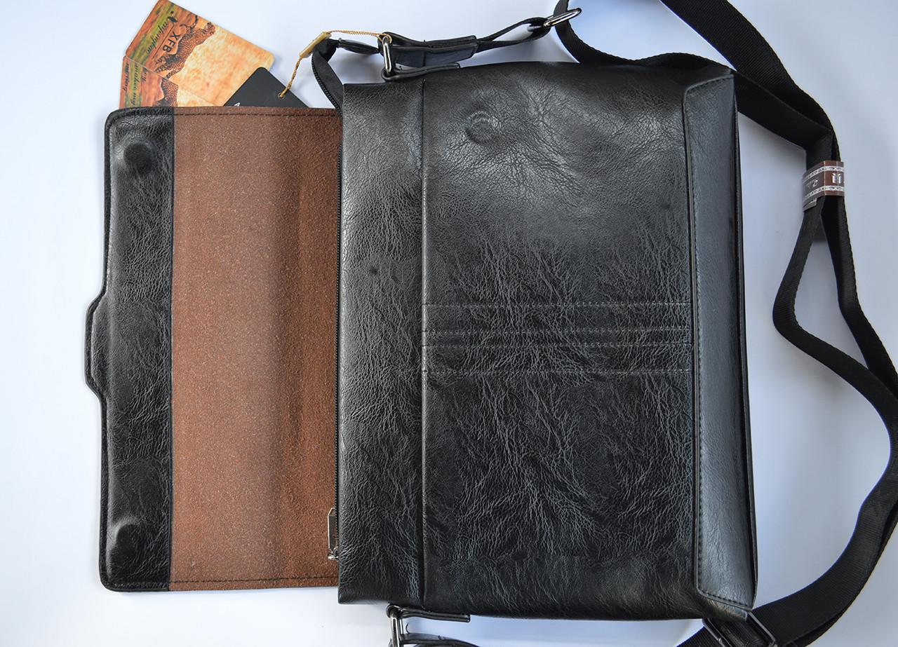 6461e79b72ad Мужская кожаная брендовая сумка через плечо для документов А4 портфель  POLO, цена 384 грн., купить в Бердянске — Prom.ua (ID#910837050)
