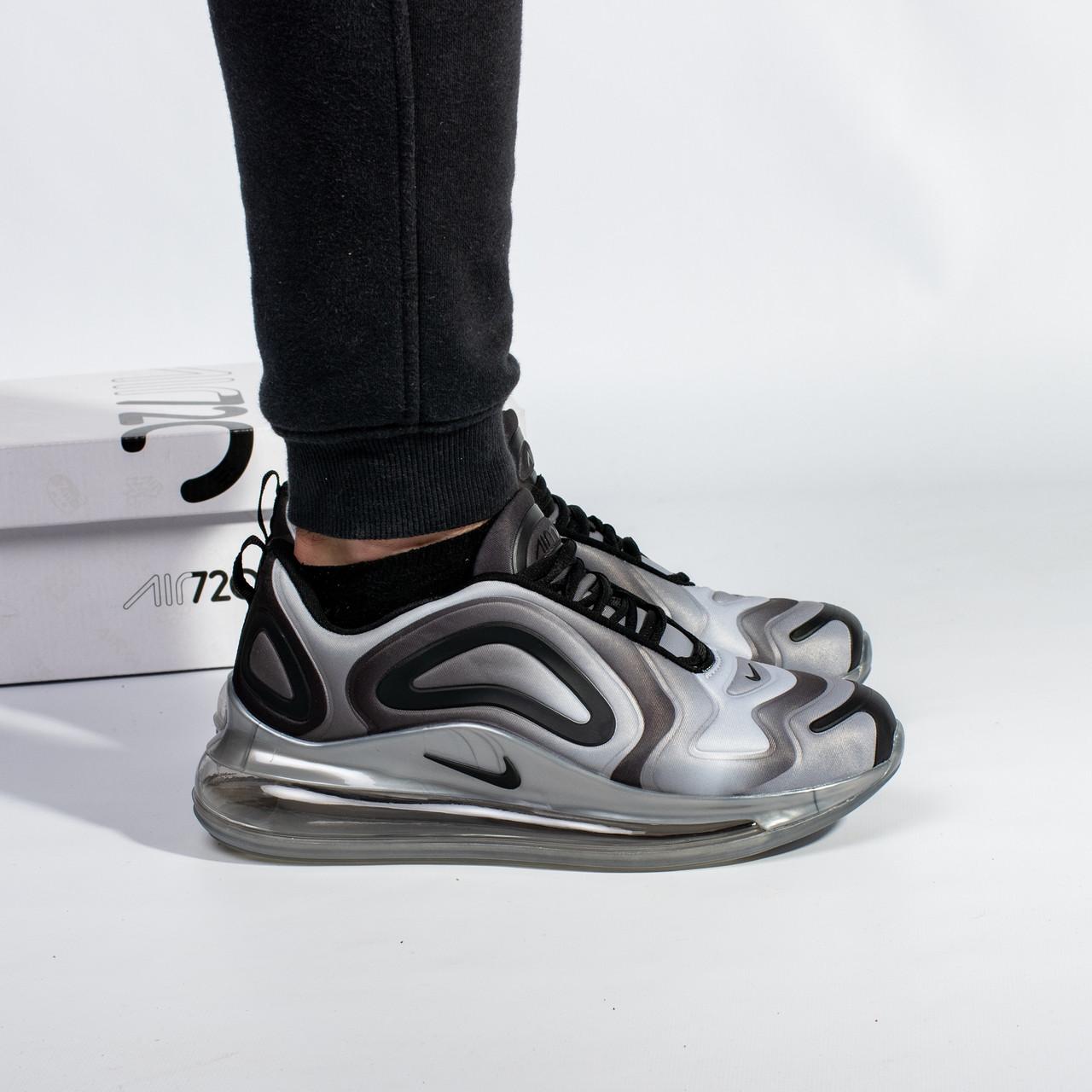 Мужские кроссовки в стиле Nike Air Max 720 Gray (41, 42, 43, 44, 45 размеры)