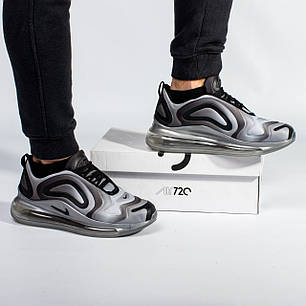Мужские кроссовки в стиле Nike Air Max 720 Gray (41, 42, 43, 44, 45 размеры), фото 2