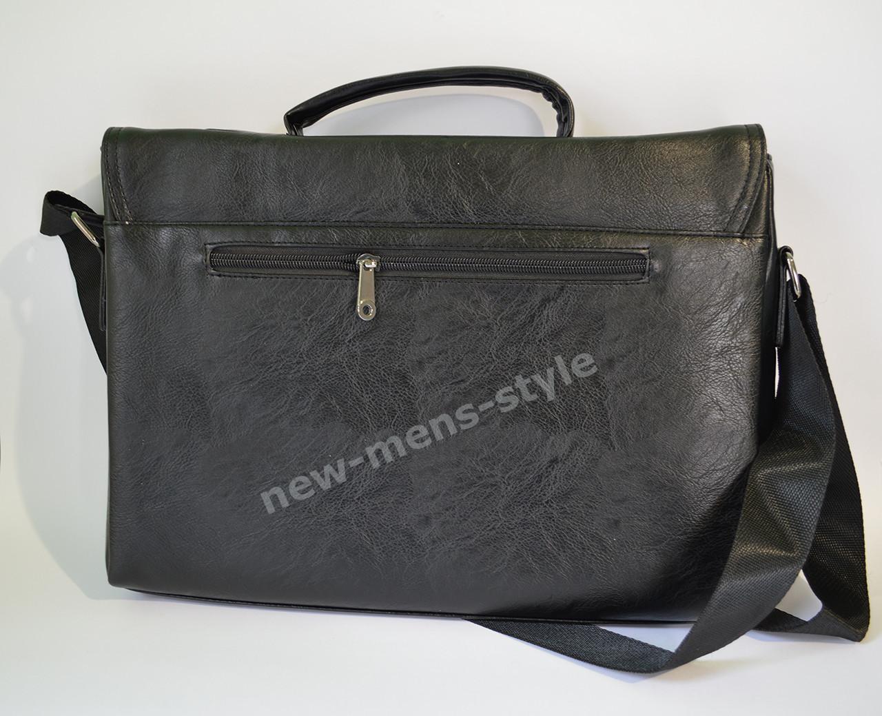 3342d4638b3e Мужская кожаная брендовая сумка через плечо для документов портфель А4, ...