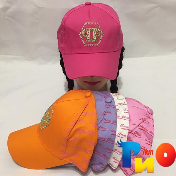 Детская  летняя кепка (100% cotton) для девочек р-р 52 (5 ед в уп) NA_9743