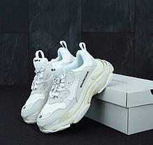 Женские кроссовки в стиле Balenciaga Triple S White (36 - 45 размеры), фото 3
